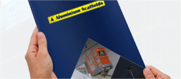 Download the Aluminium scaffolds Brochure