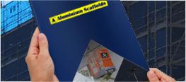 Download the Aluminium scaffolds Brochure
