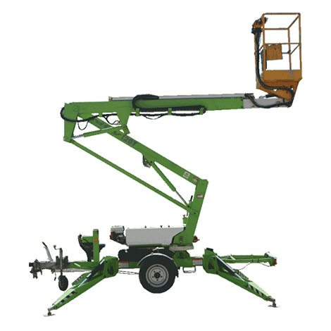 Trailer Mounted Boom - Access Equipment - Aluminium Scaffolds