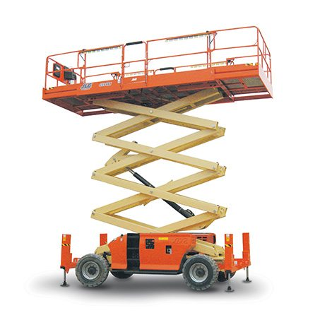 Diesel Scissor Lift - Access Equipment for Hire - Aluminium Scaffolds