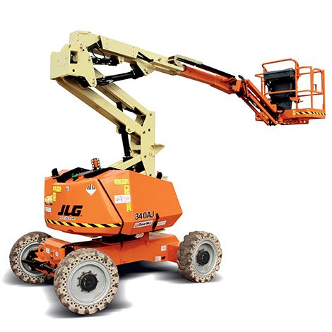 Knuckle Boom - Boom Lift Hire - Aluminium Scaffolds