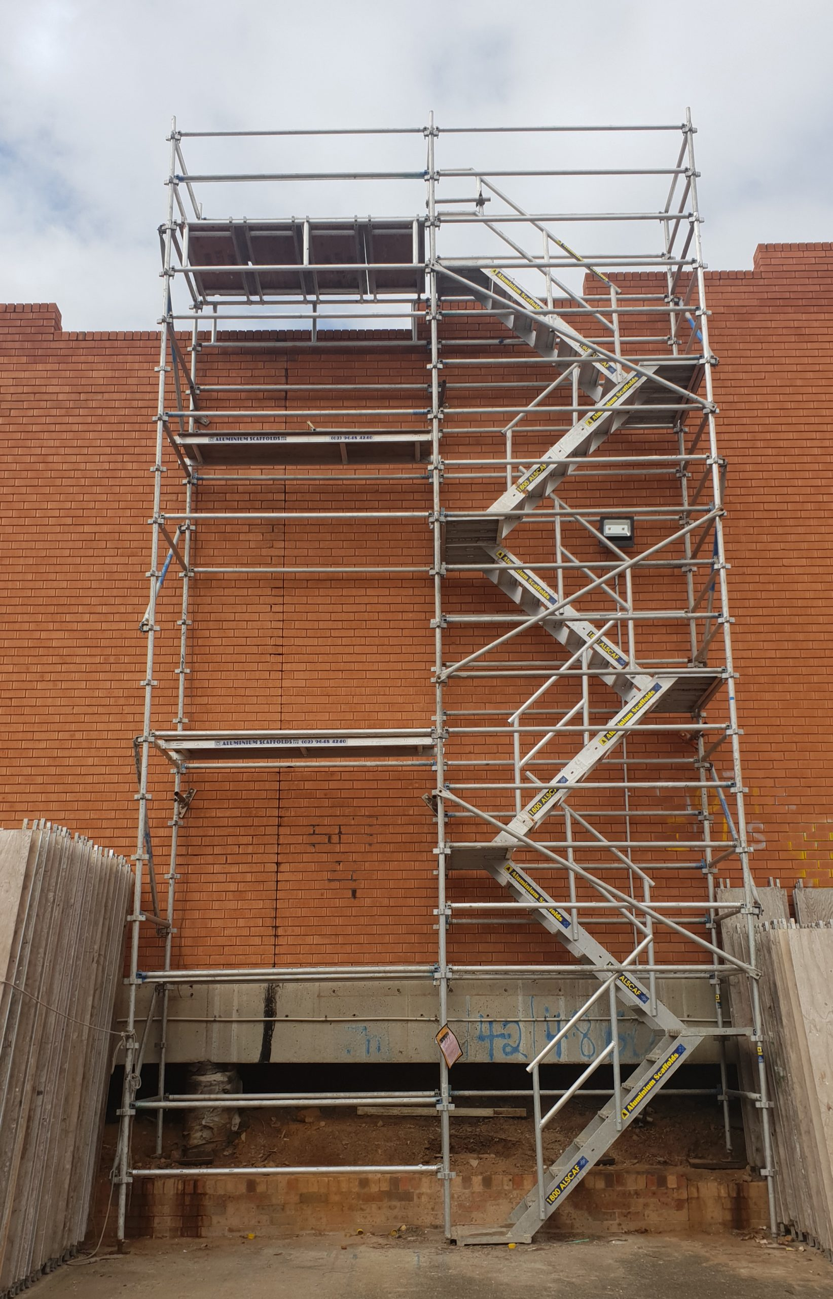 Stair Access Scaffold