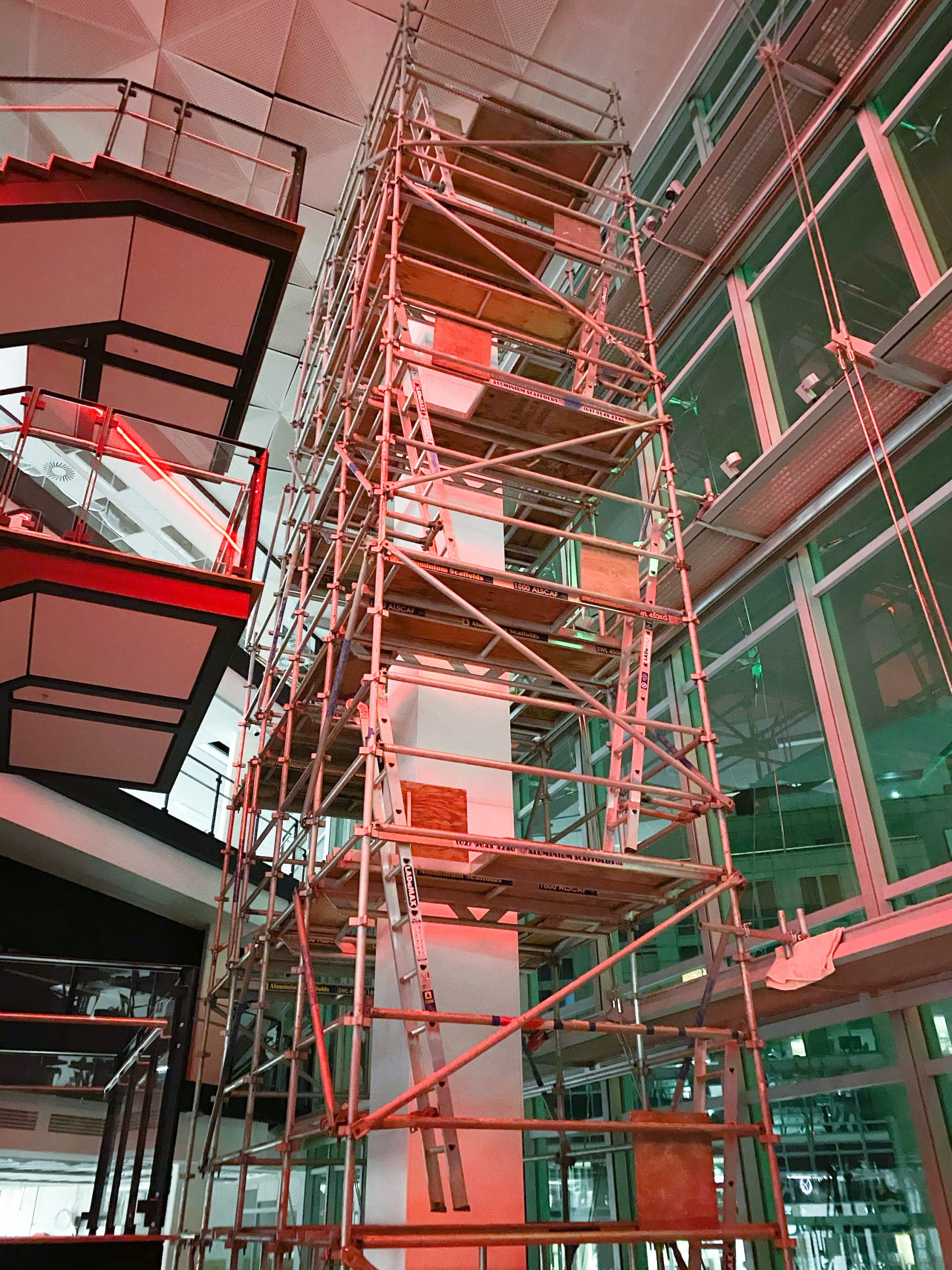 Aluminium Scaffolds - Our Projects - Scaffolding Solutions ...
